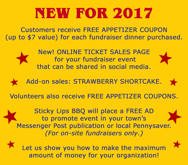 Chicken BBQ Fundraisers Sticky Lips BBQ Fundraisers – How to Make Tickets for a Fundraiser